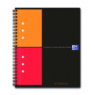 OXFORD Collegeblock Activebook A5+ 80 Blatt kariert