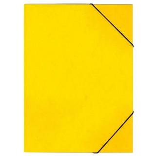 OFFICIO Flügelmappe 507 aus Pressspann mit Gummizug A4 gelb