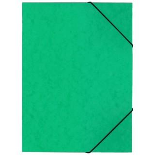 OFFICIO Flügelmappe 507 aus Pressspann mit Gummizug A4 grün