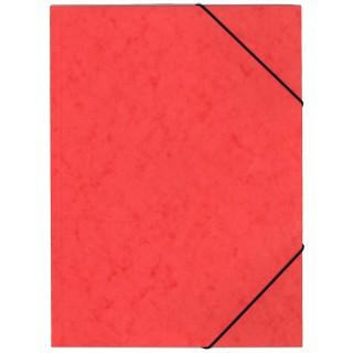 OFFICIO Flügelmappe 507 aus Pressspann mit Gummizug A4 rot