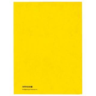 OFFICIO Flügelmappe 505 aus Pressspan A4 gelb