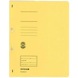 OFFICIO Ösenhefter 513 A4 aus Karton gelb