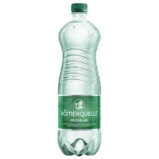 RÖMERQUELLE Mineralwasser prickelnd 6 Flaschen à 1 Liter