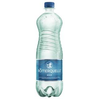 RÖMERQUELLE Mineralwasser mild 6 Flaschen à 1 Liter