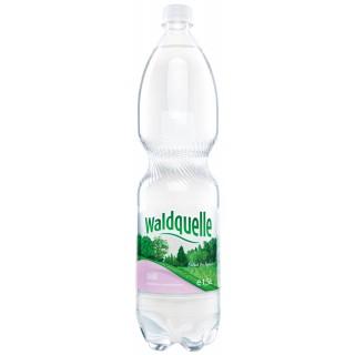 WALDQUELLE Mineralwasser ohne 6 Flaschen à 1,5 Liter