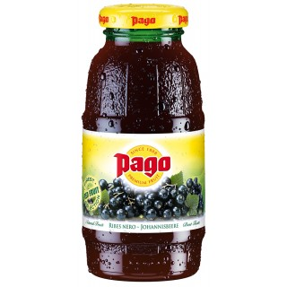 PAGO Johannisbeere Einwegglasflasche 0,2 Liter