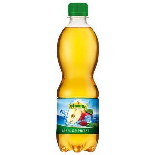 PFANNER Apfelsaft gespritzt PET-Flasche 0,5 Liter