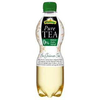PFANNER Eistee Bio Grüner Tee PET-Flasche 0,5 Liter