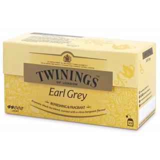 TWININGS Schwarzer Tee Earl Grey 25 Beutel