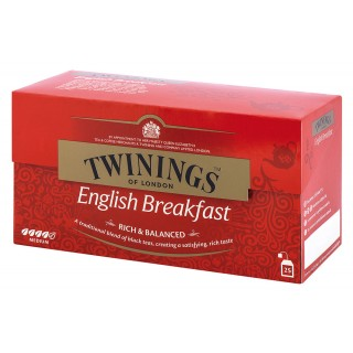 TWININGS Schwarzer Tee English Breakfest 25 Beutel