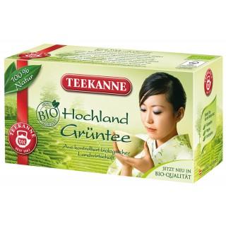 TEEKANNE Grüner Tee Bio Hochland 20 Beutel