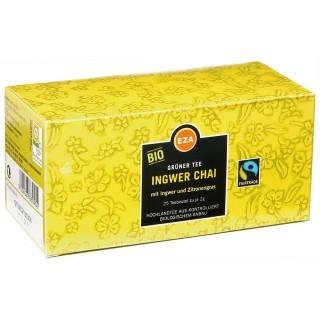 EZA Grüner Tee Bio Ingwer Chai 25 Beutel