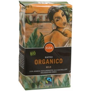 EZA Kaffee gemahlen Bio Organico Mild 500 g