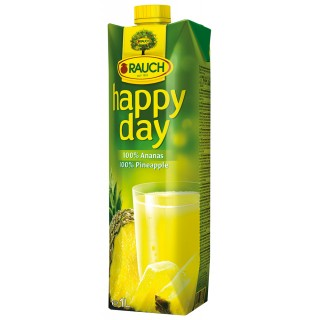 RAUCH Happy Day Ananassaft 100% Tetra-Pak 1 Liter