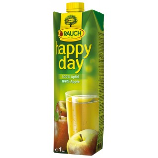 RAUCH Happy Day Apfelsaft Tetra-Pak 1 Liter