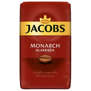 JACOBS Kaffee Classic ganze Bohne 0,5 kg
