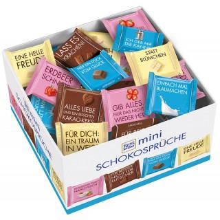 RITTER SPORT Mini-Schokoladen Schokosprüche 84 Stück