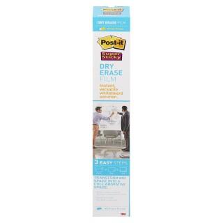 POST-IT Whiteboardfolie Dry Erase 1 Rolle 60,9 x 91,4 cm selbstklebend weiß