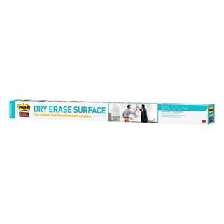 POST-IT Whiteboardfolie Dry Erase 1 Rolle 91,4 x 121,9 cm selbstklebend weiß