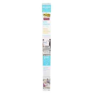 POST-IT Whiteboardfolie Dry Erase 1 Rolle 121,9 x 182,9 cm selbstklebend weiß