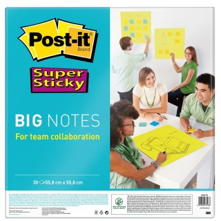 POST-IT Haftnotiz Big Notes BN 22-EU 55,8 x 55,8 cm neongrün
