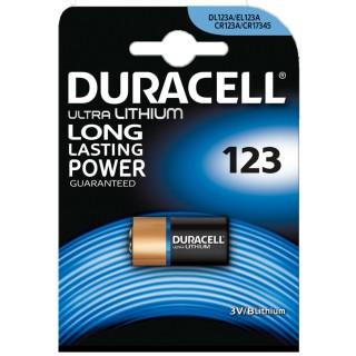 DURACELL Batterie M3 Ultra Lithium Photo 123A 3 Volt