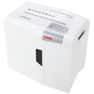 HSM Aktenvernichter shredstar X5 4,5 x 30 mm Partikelschnitt weiß