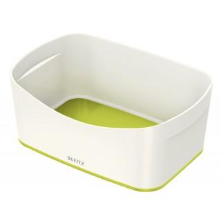 LEITZ Aufbewahrungsschale MyBox 5257 weiß/grün metallic