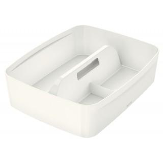 LEITZ Organiser Einsatz MyBox 5322 groß mit Griff weiß