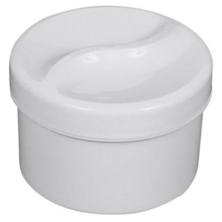 Zahnprothesenbehälter weiß