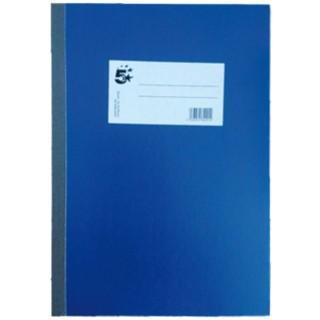 5 STAR Geschäftsbuch A6 96 Blatt liniert