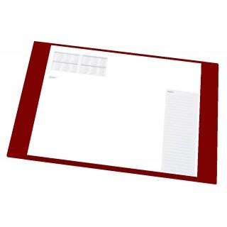 Schreibunterlage 50101 63 x 50 cm PVC dunkelrot