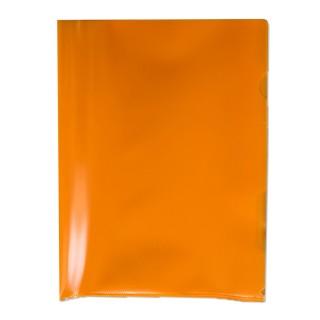 Aktenhüllen 100 Stück A4 100 my genarbt orange