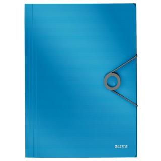 LEITZ Flügelmappe 4563 Solid A4 mit Gummizug blau