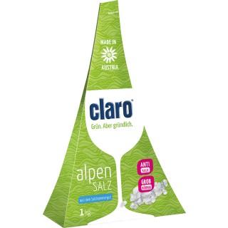 CLARO Regeneriersalz Alpensalz 1 kg