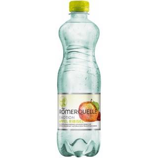 RÖMERQUELLE Emotion 12 Flaschen à 0,5 Liter Apfel-Ribisel