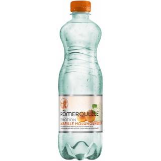 RÖMERQUELLE Emotion 12 Flaschen à 0,5 Liter Marille-Holunderblüte
