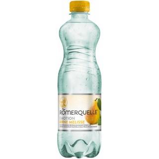 RÖMERQUELLE Emotion 12 Flaschen à 0,5 Liter Birne-Melisse