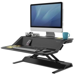 FELLOWES Lotus Steh-Sitz Workstation 0007901 schwarz