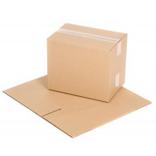Versandkarton Größe 4 1-wellig 317 x 221 x 261 mm braun