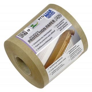 PROTECT Abdeckband P50 selbstklebend 75 mm x 50 m  Kraftpapier 50 g/m² braun