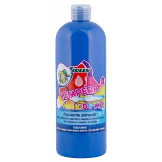 JOLLY Malfarbe 9342 Tempera Kids Mix 1 Liter ultramarinblau
