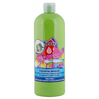 JOLLY Malfarbe 9342 Tempera Kids Mix 1 Liter hellgrün