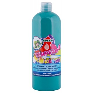 JOLLY Malfarbe 9342 Tempera Kids Mix 1 Liter dunkelgrün