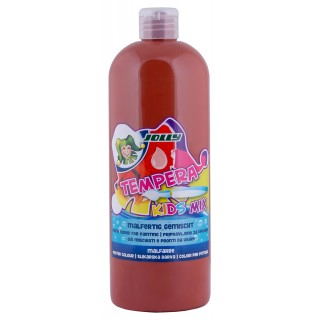 JOLLY Malfarbe 9342 Tempera Kids Mix 1 Liter mittelbraun