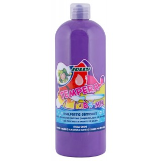 JOLLY Malfarbe 9342 Tempera Kids Mix 1 Liter lavendel