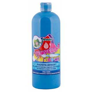 JOLLY Malfarbe 9342 Tempera Kids Mix 1 Liter himmelblau