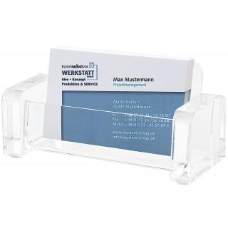WEDO Visitenkartenhalter 604416 Acryl Cristallic glasklar