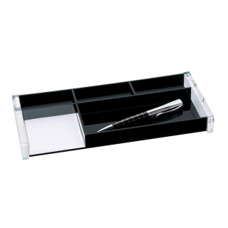 WEDO Stifteschale 601601 Exklusiv Acryl glasklar