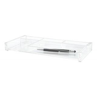 WEDO Stifteschale 601616 Cristallic Acryl glasklar